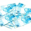 New Brazilian Money — Stock Photo #75684117