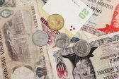 Argentina Currency — Stock Photo