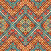 Seamless colorful navajo pattern — Stock vektor