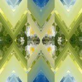 抽象的な幾何学模様 — ストックベクタ