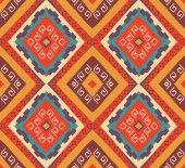 Seamless colorful navajo pattern — Stockvektor