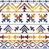 бесшовные красочные навахо — Cтоковый вектор