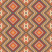 Motif navajo coloré sans soudure — Vecteur