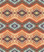 Nahtlose bunte navajo-muster — Stockvektor
