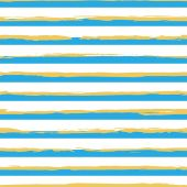 Watercolor striped seamless pattern — Stock Vector