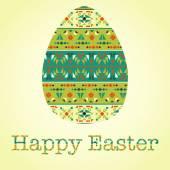 Modern Easter background — Stock Vector