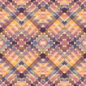 Seamless colorful navajo pattern — Stock Vector
