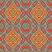 Seamless colorful navajo pattern — Stock Vector