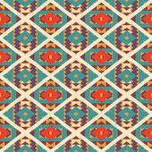 Seamless pattern navajo colorato — Vettoriale Stock
