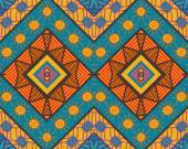 Seamless ethnic pattern — Stock Vector