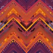 Geometric ethnic pattern — Wektor stockowy