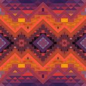 Geometric ethnic pattern — Διανυσματικό Αρχείο
