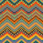 Colorful navajo pattern — Stock Vector