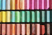 Set of color chalks — Stock Photo