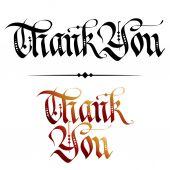 Thank You — Vector de stock