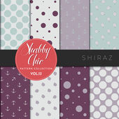 Shabby Chic Pattern Collection - Shiraz — Stock Vector