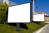 Outdoor advertising — Stock Photo