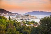 Bodrum in sunset, Turkey — Stock Photo