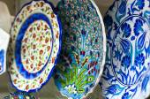 Turkish pottery — Stock Photo