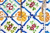 Tunisian tiles — Stock Photo