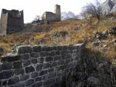 Türme von inguschetien. alte architektur und ruinen — Stockfoto