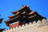 Temples of the Forbidden City in Beijing China — Foto Stock