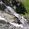 Alibek Waterfall. Dombay Mountains. The Northern Caucas — Stock Photo #53402655