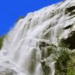 Alibek Waterfall. Dombay Mountains. The Northern Caucas — Stock Photo #56001373