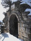 Lermontovs Grotto. Pyatigorsk Landmarks, The Northern Caucas — Stock Photo