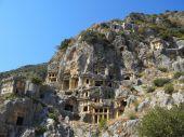 Alte tote stadt in myra demre türkei — Stockfoto