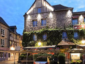 Edifice Les maisons de Lea in Honfleur, France — Stock Photo