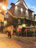 Building of Les maisons de Lea in Honfleur, France — Stock Photo