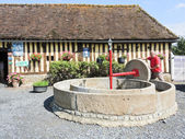 Old apple press on Normandy Cider Route — Stock Photo