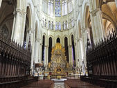Nave of Amiens Cathedral, France — Stock Photo