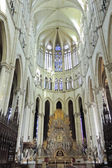 Hall of Amiens Cathedral, France — Stock Photo