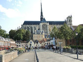 View of Amiens Cathedral, France — Stock Photo