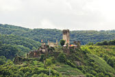 Metternich Castle (Burg Beilstein) on green hill — Stock Photo