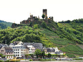 Beilstein village and Metternich Castle, Germany — Stock Photo