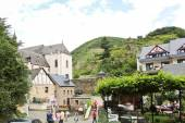 Cityscape of Beilstein town, Moselle river region — Stock Photo