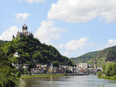 View of Cochem on Moselle river, Germany — Stock Photo