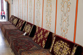 Interior of Divan Chamber in Khan's Palace, Crimea — Stock Photo
