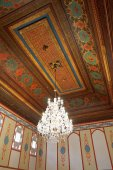 Ceiling of Divan Chamber in Khan's Palace, Crimea — Stock Photo