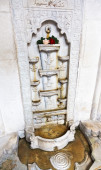 Marble Fountain of Tears in Khan's Palace, Crimea — Stockfoto