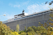 Facade of Yalta Hotel Complex in Crimea — Stock Photo