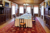 Interior dining room in Masandra Palace, Crimea — Zdjęcie stockowe