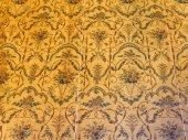 Stary tapeta tkanina w sali pałacu Voronsov — Zdjęcie stockowe