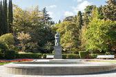 Anton Chekhov statue in park, Yalta, Crimea — Stock Photo
