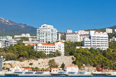 Waterfront in Koreiz resort area in Crimea — Stock Photo