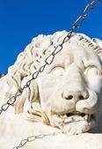 Medici lion close up near Vorontsov Palace — Stock Photo