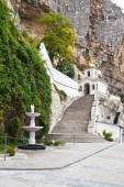 View of Assumption Monastery of the Caves, Crimea — Stock Photo